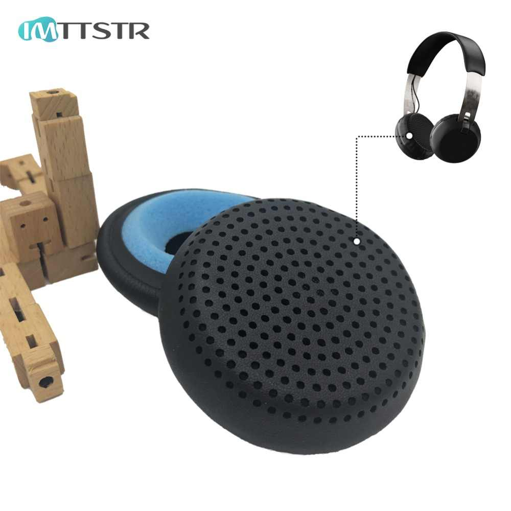 0cd4dbb1cdd IMTTSTR 1 Pair of Ear Pads earpads earmuff cover Cushion Replacement Cups  for Skullcandy Grind Wireless