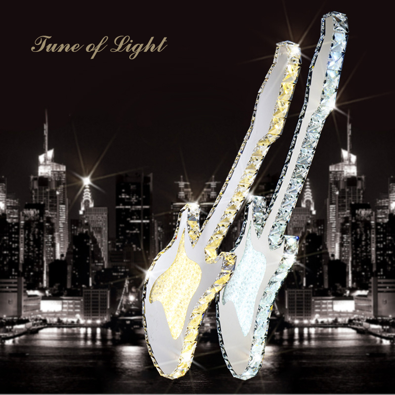 Ecolight Happy 25 Aug Sale Modern Led Pendant Lamp Led Pendant Light Guitar Shape 90 265V