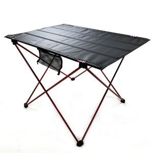 Image 2 - 328 Promotion Portable Foldable Folding Table Desk Camping Outdoor Picnic 6061 Aluminium Alloy Ultra light