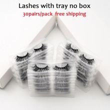 30pairs/pack Visofree Lashes 3D Mink Eyelashes Full Strip Lashes Handmade Premium Mink Hai