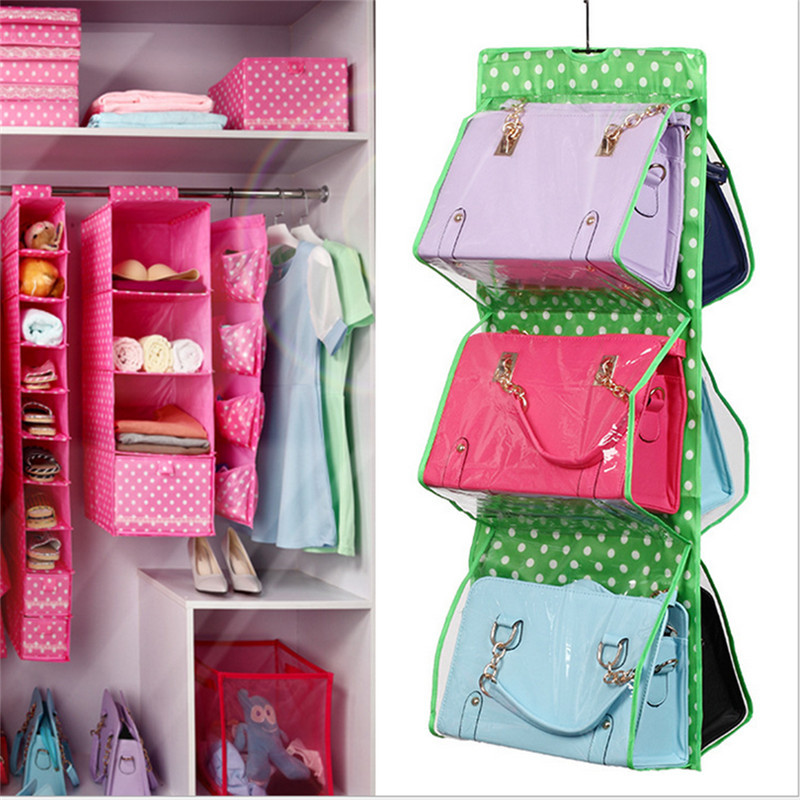 3 Colors Hanging Storage Bag Purse Handbag Tote Bag Storage Organizer Closet  Rack Hangers In Storage Bags From Home U0026 Garden On Aliexpress.com | Alibaba  ...