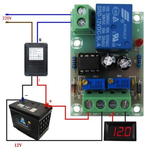 XH M601 バッテリー充電制御電源モジュールボード充電器電源制御パネル自動充電電源モジュール
