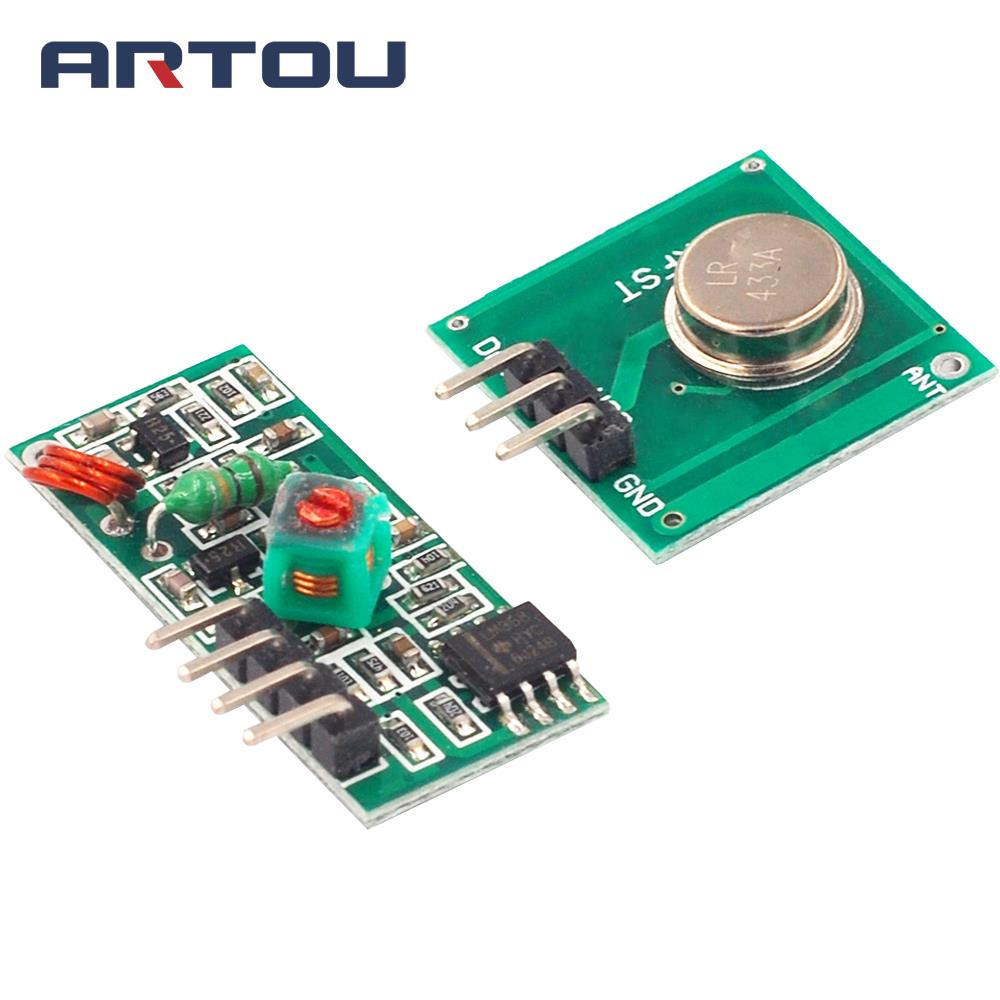 Hot Sale 433Mhz RF transmitter and receiver link kit for ARM//MCU WL UKP