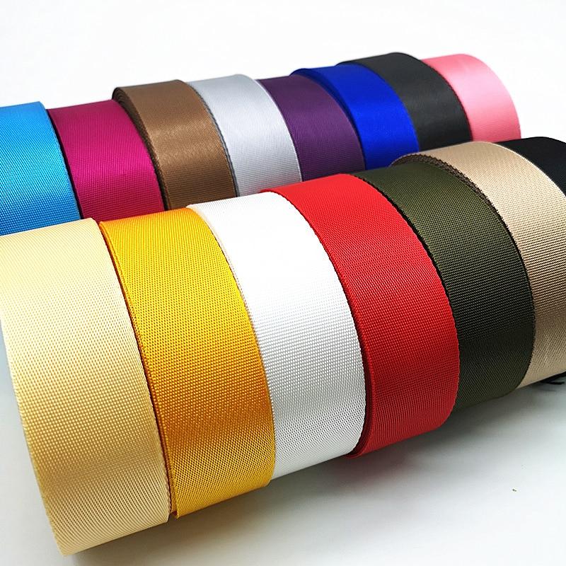 10 Yards 30mm Canvas Nylon Strap Webbing Ribbon Sewing Strap Bag Belt Accessories