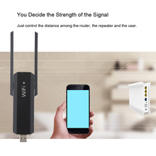 300Mbps Wireless AP WiFi Network Repeater Router Extender Booster Amplifier Repetidor Dual Antenna Full Coverage 802.11 b/g/n