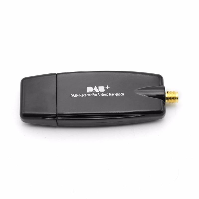 Car Dab + Radio Tuner Stick usb dongle Tuner / Box USB - მანქანის ელექტრონიკა - ფოტო 3