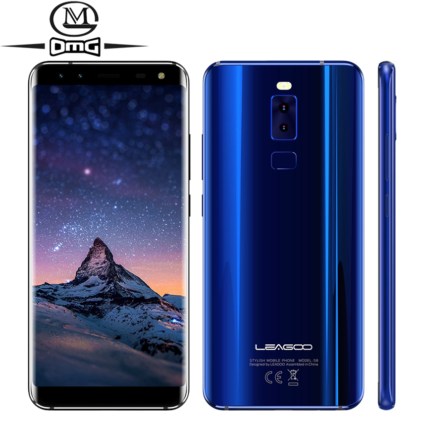 Leagoo S8 Mobile Phone MTK6750T Octa Core 5 72 Android 7 0 4G Smartphone 3GB RAM