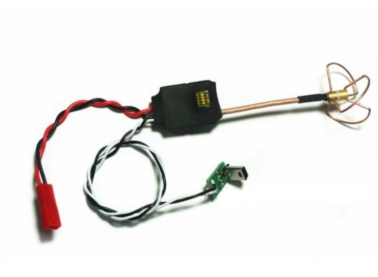 Free Shipping FPV 200mW Telemetry System Set Transmitter w/Gopro 3 AV Cable & 3 Blade 2-6S SKU:10883 fpv5802 5 8g 200mw av sender transmitter fox r58 receiver set for fpv telemetry system 20739
