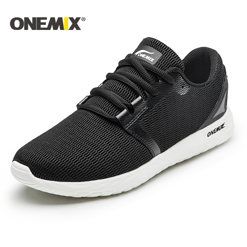Onemix NEW running shoes unisex breathable mesh lightweight sneaker outdoor walking for men trekking shoes sports sneaker women onemix new running shoes men or women outdoor sport shoes air cushion sneaker zapatos hombre trekking shoes free shipping