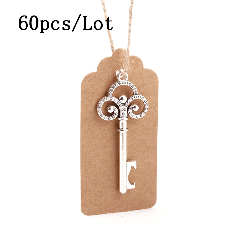 50 pçs metal chave abridor de garrafa