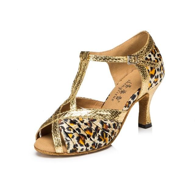 03e8efb364 Senhoras Ballroom Salsa Sapatos de Dança Latina Mulher Sapatos de Treino de  Dança de Salão sapatos