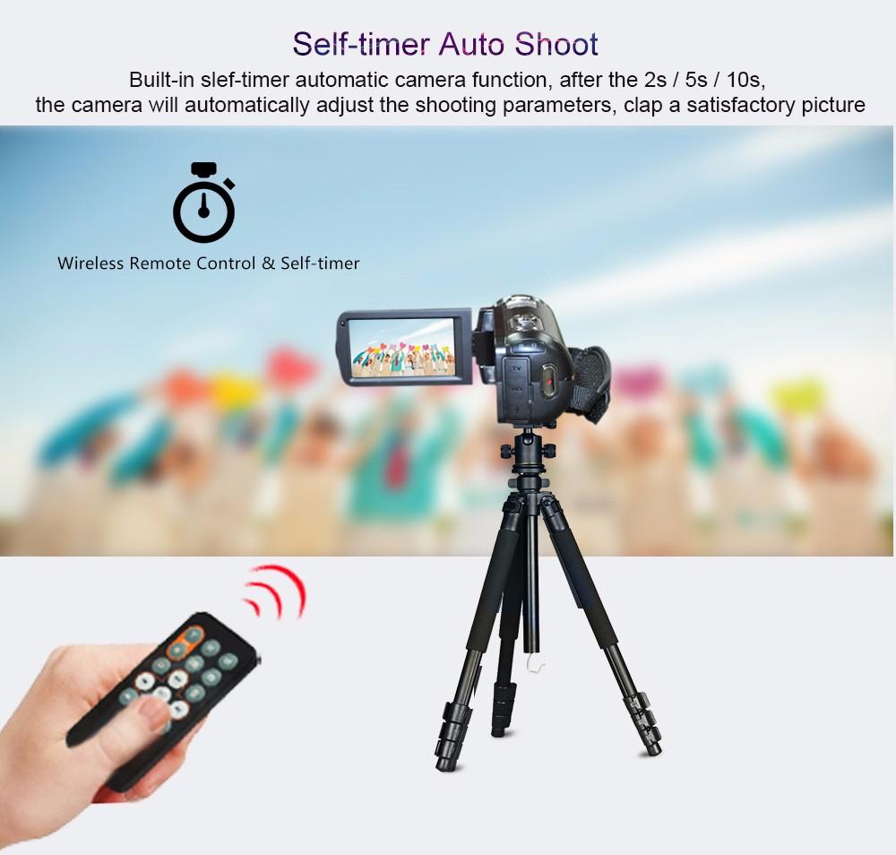 Ordro Camcorder HDV-Z18 Plus 1080P FHD Digital Video Camera Recording with 12X Teleconverter Remote Control HDMI Output 9