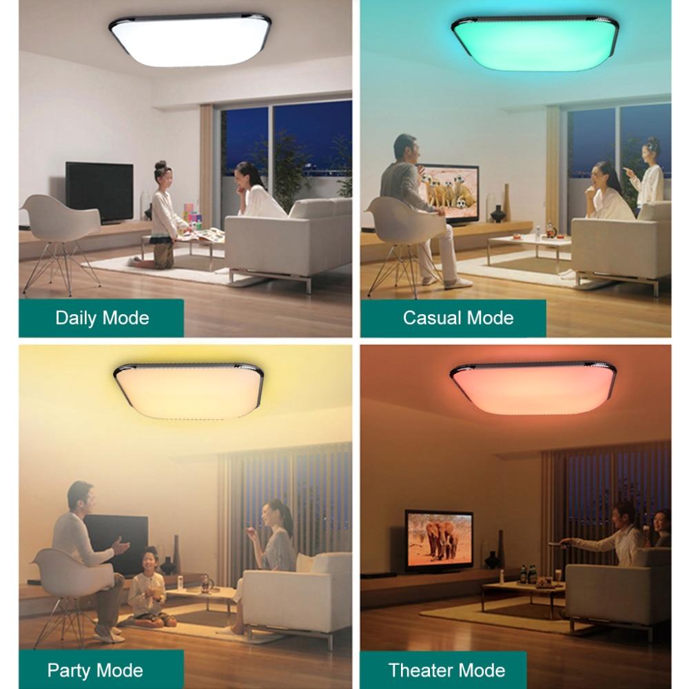 36 Watt RGB Led deckenleuchte Fernbedienung Wohnzimmer ...