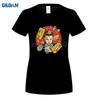 GILDAN Fashion Stranger Things T Shirts Women Summer Tops Homme Digital Printing 100 180g Combed Cotton