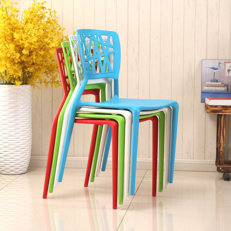 Living Room Chairs Living Room Furniture plastic fashion chair minimalist dining chair sillas 4 pieces/set wholesale 45*40*85cm