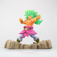 DragonBall Super Saiyan model figure intensify version BROLY anime toy figure collection action toy Decoration boxed T7774
