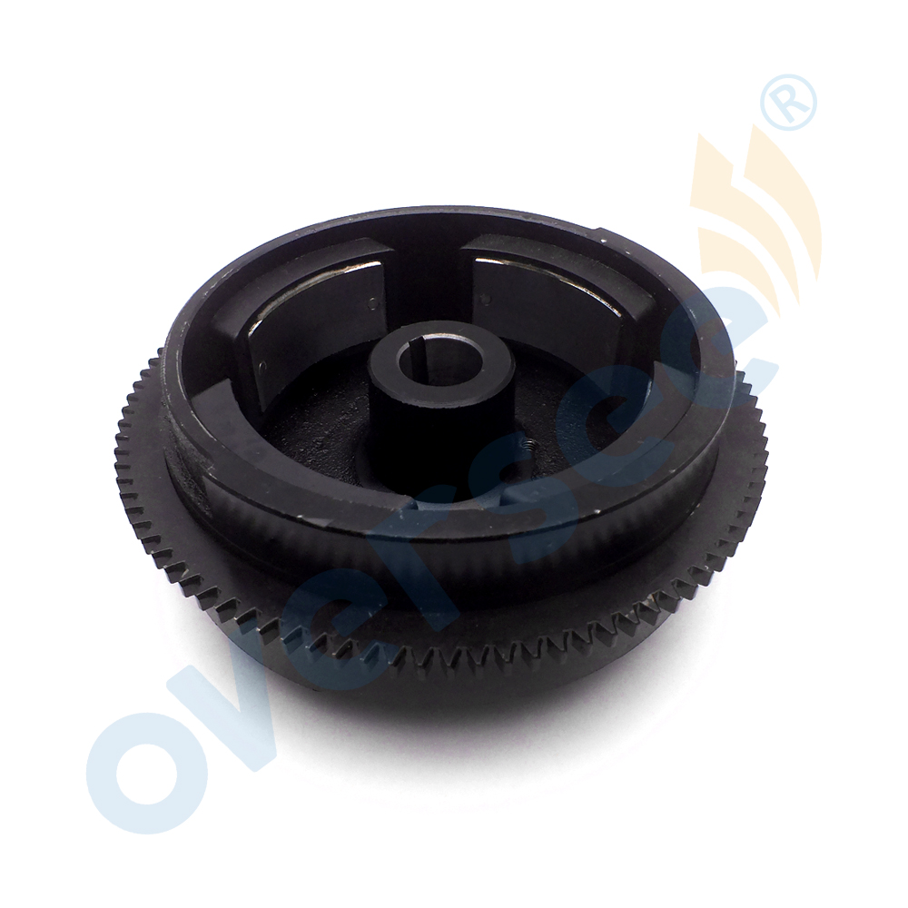 63V-85550-00 Electric Flywheel For Yamaha Outboard Engine 9.9HP 15HP ROTOR ASSEMBLY For Parsun 0