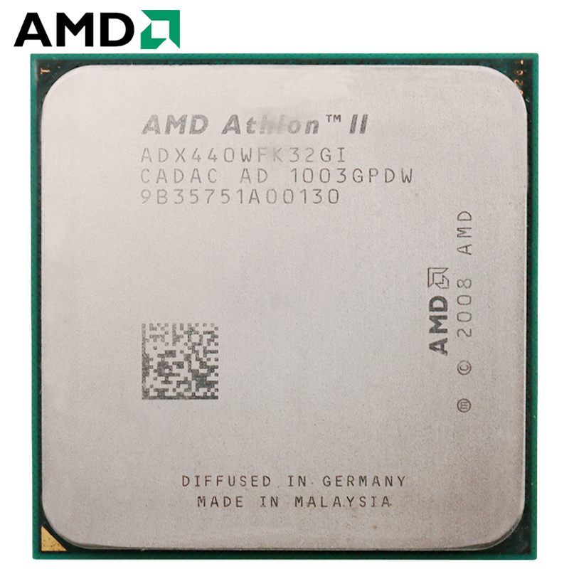AMD Athlon II X3 440 CPU Socket AM2+ AM3 95W 3.0GHz 938-pin Three-Core Desktop Processor CPU X3 440 socket am2+ am3 1