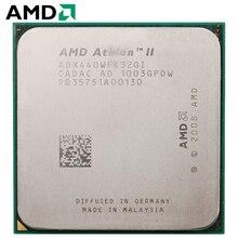 AMD Athlon II X3 440 cpu Разъем Am2 + AM3 95 W 3,0 GHz 938-pin трехъядерный настольный процессор cpu X3 440 Разъем Am2 + am3