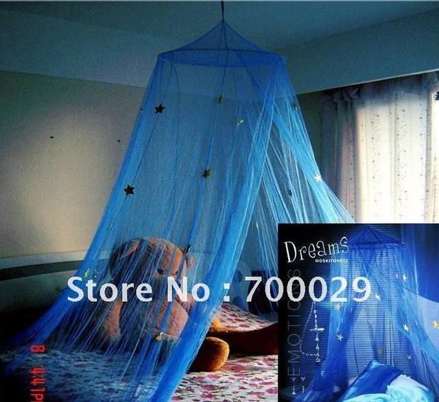 New 2015 Silver Star decoration bed canopy /100% polyester mosquito nets / nets / mosquito / gifts -WHB-B33