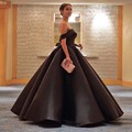 vestido longo Boat Neck Black Maxi Evening Dress Sequined Elegant Backless Arabic Turkish Gowns Gala Women Formal Party Gowns