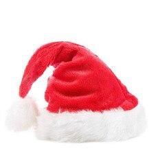 Navida Новое поступление рождественские шапки s Санта Клаус Рождественская хлопковая шапка Рождественский подарок Новогодняя шапка рождественские украшения