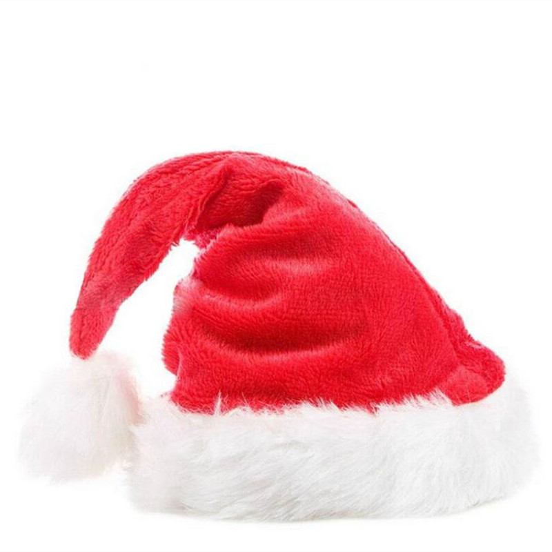 2018 Navida New Arrival Christmas Hats Caps Santa Claus Xmas Cotton Cap Christmas Gift New Year Cap Merry Christmas Decoration