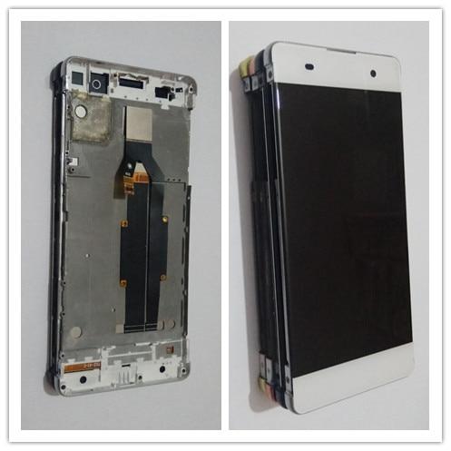 JIEYER 5,0 для sony Xperia XA ЖК-дисплей Дисплей Сенсорный экран планшета Ассамблеи F3111 F3113 F3115 Pantalla Замена + рамка