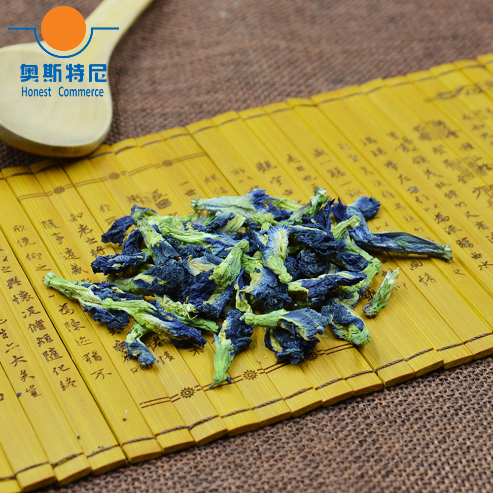 100 г Бесплатная доставка натуральный голубой горох-бабочка