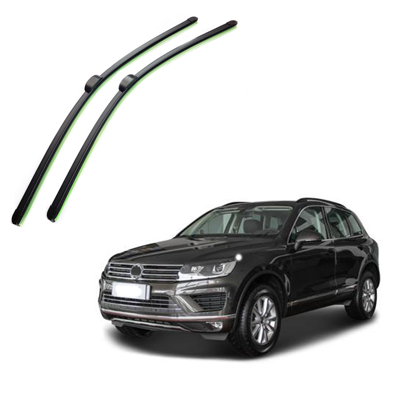 "Νέο υαλοκαθαριστήρα 26 ""+26"" για VW Touareg Porsche Cayenne 2008 2009 2010 2011 2012 2013 2014 Frameless Window Wind Windield Wiper Blade"