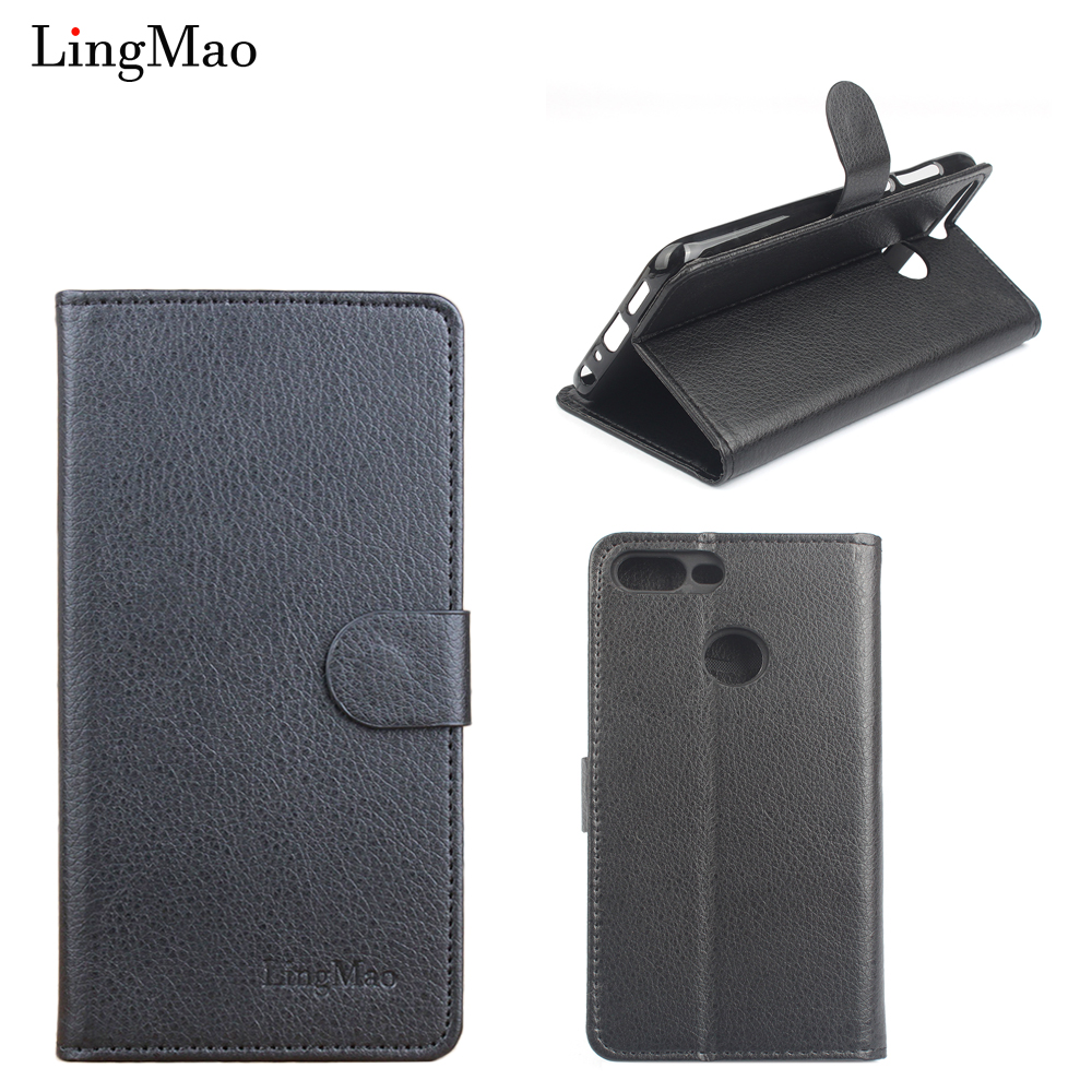 Litchi Grain Leather Case For Huawei Honor 9 Lite Case Flip Shell For Huawei Honor 9 Lite Cover Phone Case Bags Funda Coque