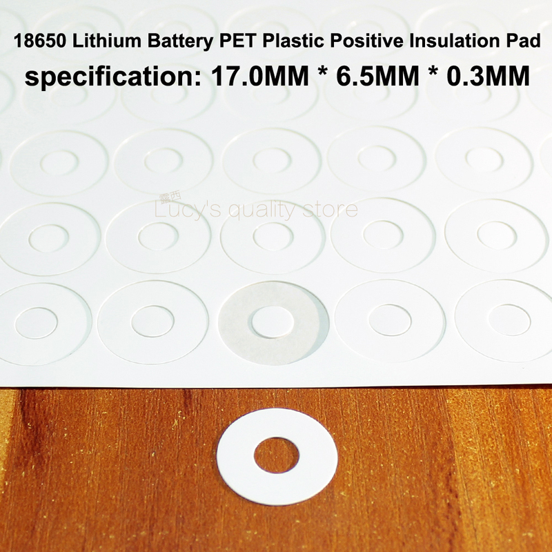 100pcs Original imported various brand 18650 lithium battery font b PET b font green plastic positive