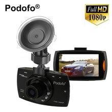 Wholesale prices Podofo G30 Car Camera + 32G Card Night Vision Full 1080P HD 140 Digital Car DVR Camcorder Recorder G-sensor CMOS Sensor  2.7″