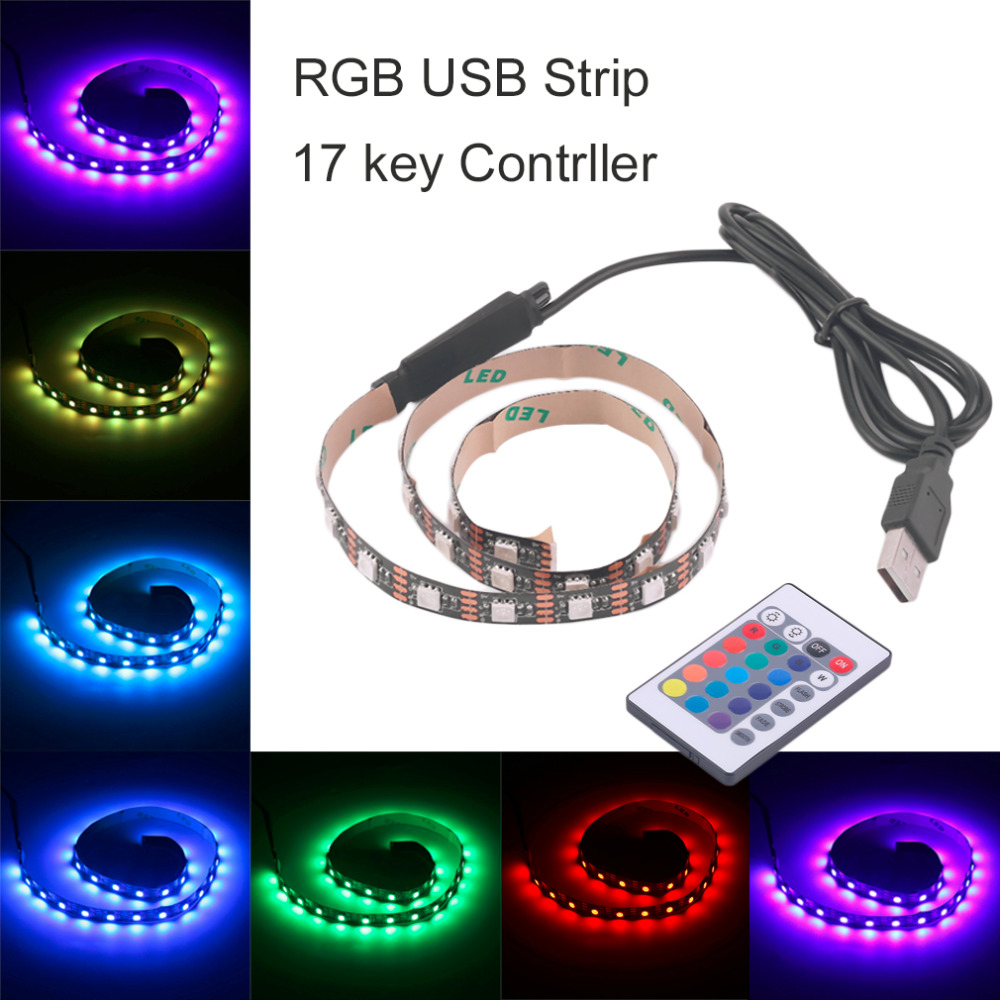 Bright 5050 Tape Light: ICOCO RGB 5050 SMD LED Strip Light Flexible LED Tape Lamps
