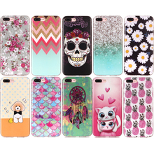 Cute Dog Mobile Phone Soft TPU Silicone Case Cover Shell Coque Funda for Apple iPhone 5 5S SE 6 6S 7 8 Plus iPod Touch