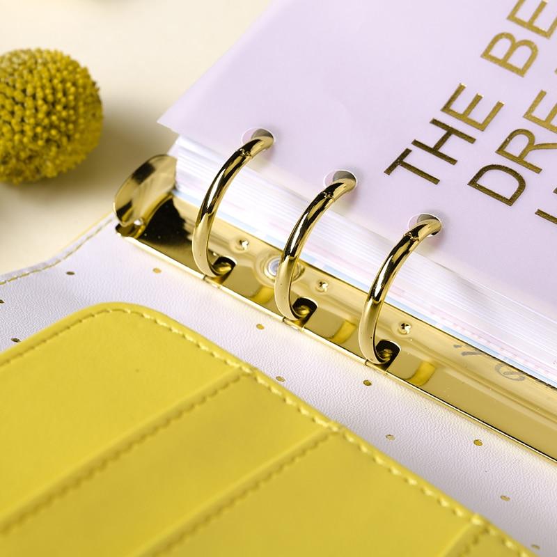 Lovedoki Solros Spiral Anteckningsbok Personlig Dagbok A5A6 Planner - Block och anteckningsböcker - Foto 3