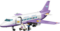 Compatible LegoINGlys 41109 Friend Girls City Plane Airport Model Building Blocks Educational Toys Christmas Gifts