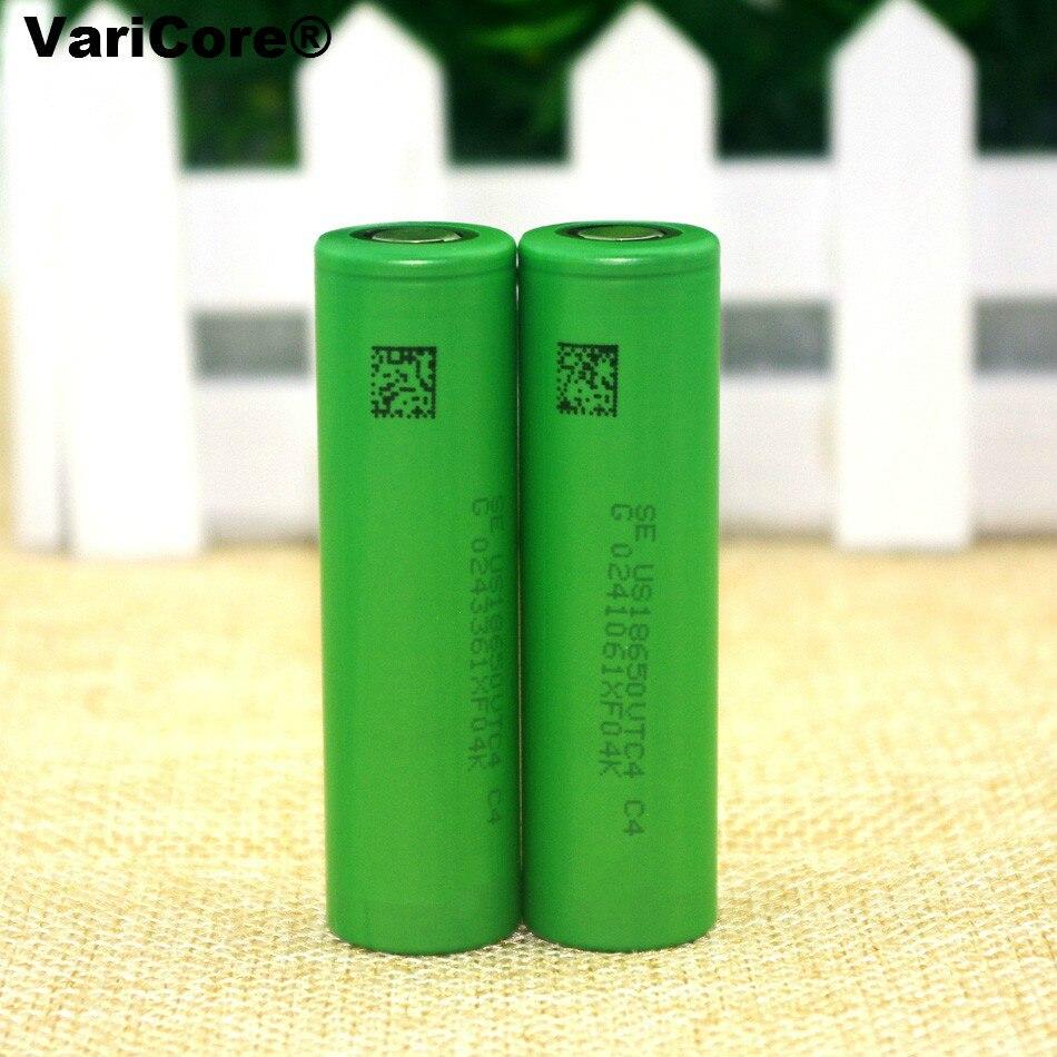 2 unids .. nueva original US18650VTC4 18650 2100 mAh 3.6 V batería de litio de v