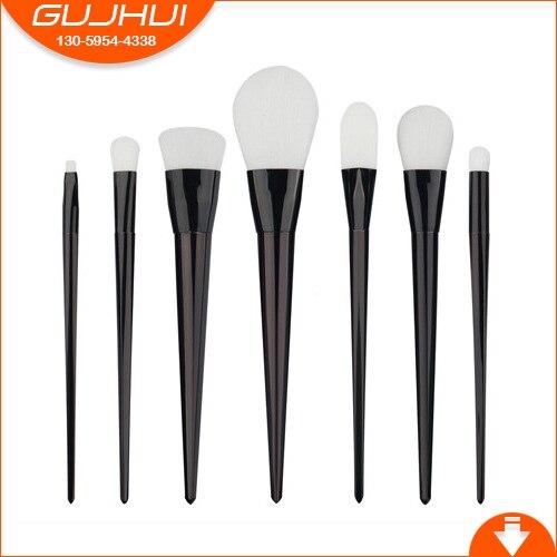 GJH 7 Makeup Brush Sets, Brush Beauty Tools Hot, GUJHUI Source Factory, Foreign Trade Hot 7 unicorn makeup brush sets beauty tools new sets sweeping new gujhui rhyme