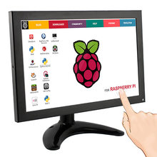 Elecrow Raspberry Pi 3 Display Touch Screen 10.1 Inch IPS LCD 1280x800 FULL HD Monitor TFT HDMI VGA AV Built-in Speaker for FPV