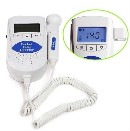 Sonoline B Prenatal Fetal Doppler with Display 2Mhz Probe CE FDA Pocket Ultrasound Prenatal Baby Care
