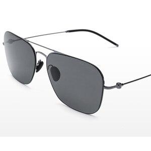 Image 4 - Youpin Ts Merk Sunglass Nylon Gepolariseerde Roestvrij Zon Lenzen Glasse Smart Retro Uv Proof Outdoor Reizen Voor Man Vrouwen h20
