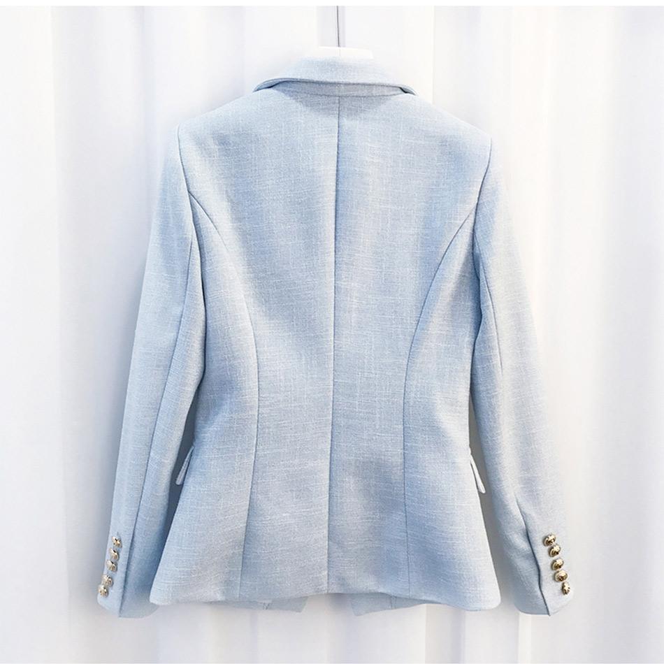 Seamyla-High-Quality-Newest-2017-Designer-Blazer-Women-Long-Sleeve-Double-Breasted-Metal-Lion-Buttons-Blazer