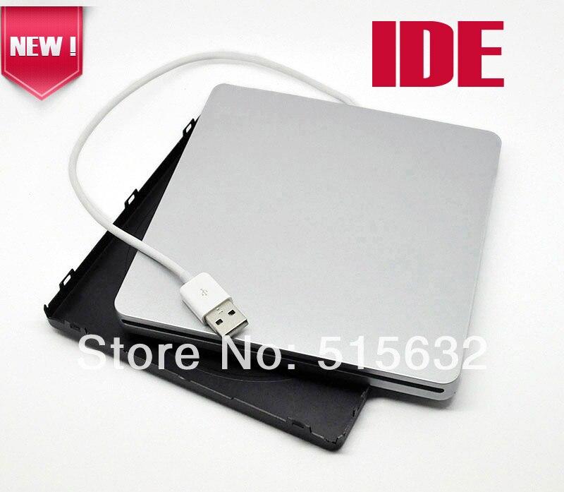 IDE Super External USB enclosure caddy case for MacBook 9 5mm 12 7mm IDE superdrive