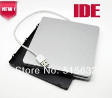Ide súper externa caja portadiscos recinto del USB para MacBook 9.5 mm 12.7 mm IDE superdrive