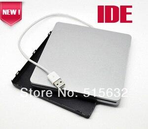 IDE Super zewnętrzny USB obudowa caddy etui na Macbooka 9.5mm 12.7mm IDE napędu superdrive