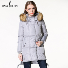 TOP Quality Large Fur Collar 2016 Winter Jacket Women Hooded Plus Size Thick Down Cotton Casual Coat For Women Winter Parka