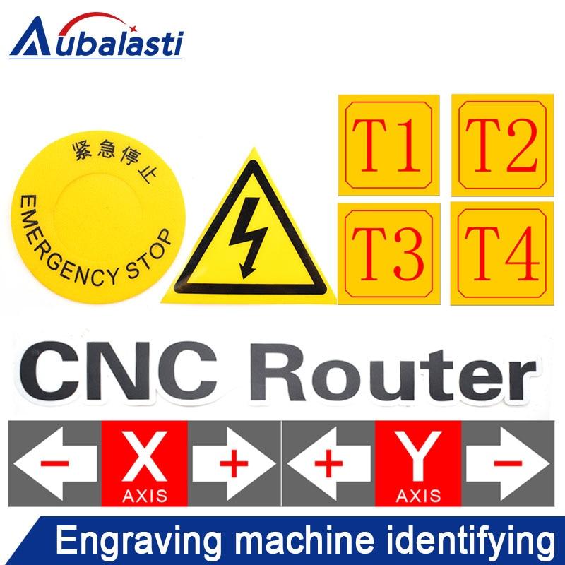 Engraving Machine Logo CNC Engraving Electromechanical Road Icon XYZ Sticker Engraving Machine Indicator Label