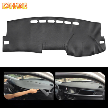 KAHANE Leather Car Dashboard Cover Non-Slip Dash Mat Pad Right Hand Driver For Toyota Corolla 2007-2013