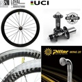 700c карбоновое колесо для велосипеда  дорожный велосипед  колесная пара с белыми индустриями T11  ступица  столб  крыло  20 легковесных спиц